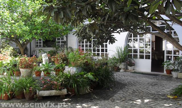 Jardim exterior do centro de dia