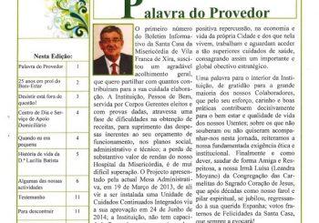 Boletim nº 2 da Misericórdia de Vila Franca de Xira