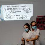 Ação de formação broncoaspiração