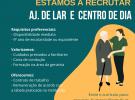 Recrutamento Ajudante de Lar e Centro de Dia