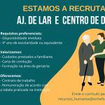 oferta de emprego ajudante de lar