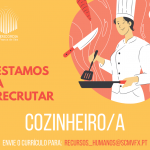 oferta de emprego cozinheiro