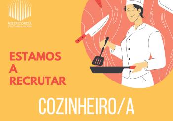Recrutamento cozinheiro/a